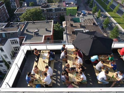 rooftop bars amsterdam
