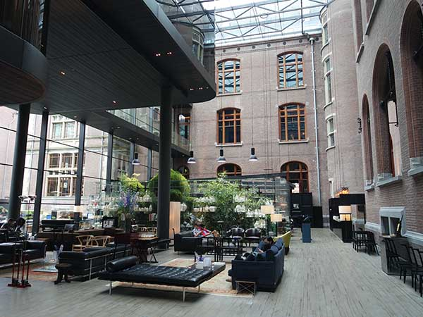 Conservatorium Hotel Amsterdam Design Hotel In Amsterdam