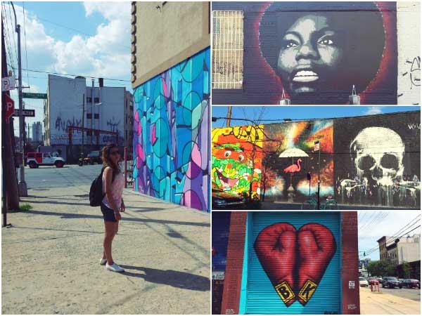 Bushwick Collective street art Bushwick New York
