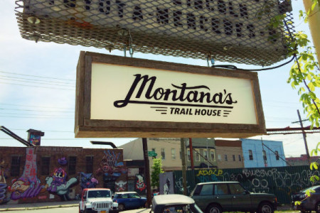 Sign Montana's Trail House Troutman Bushwick
