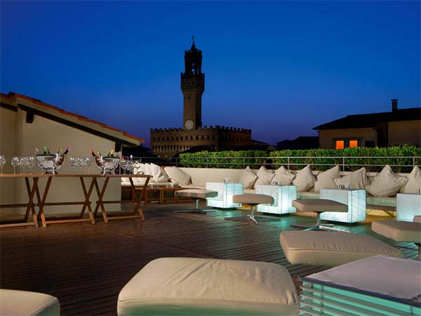 La Terrazza Florence rooftop bar | Florence City Guide