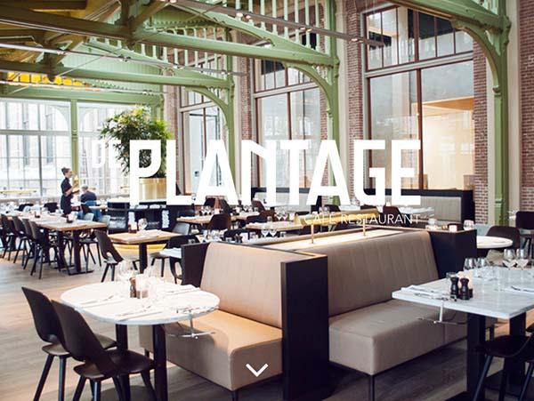 Cafe restaurant de plantage amsterdam via yourlbb for Nieuwe restaurants amsterdam