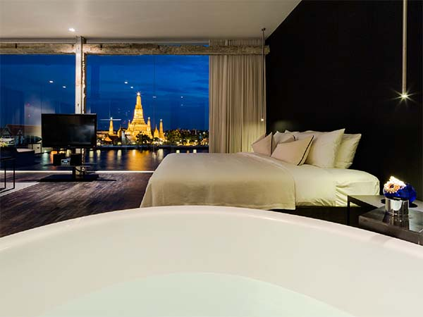 Sala rattanakosin bangkok design hotel rooftop bar for Top design hotels bangkok