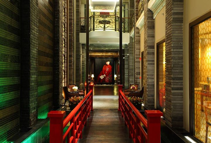 Shanghai mansion bangkok design hotel in china town for Designhotel 21