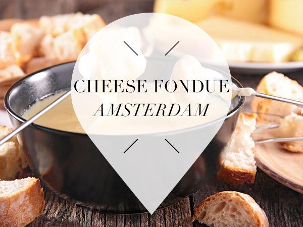 cheese fondue in amsterdam