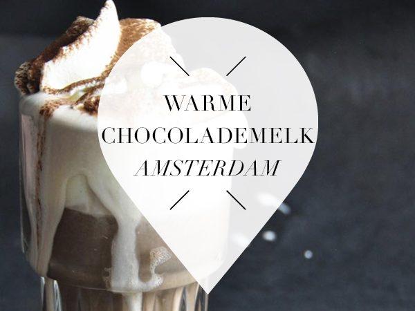 warme chocolademelk amsterdam