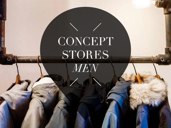 concept stores for men