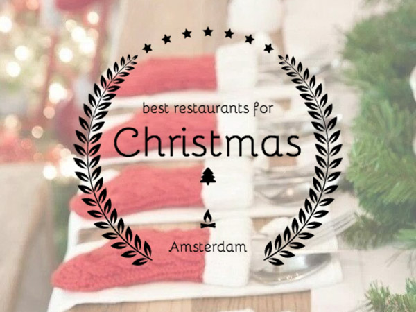 resaurants christmas amsterdam