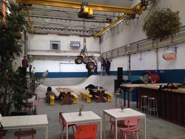 © Skatecafé, Amsterdam - leukste bars en cafes amsterdam