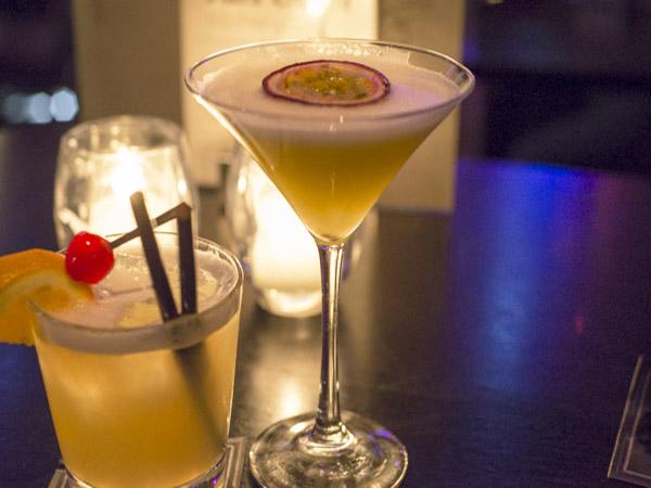 Passievrucht cocktail dress