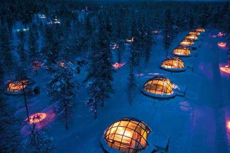 Igloo Lapland Finland