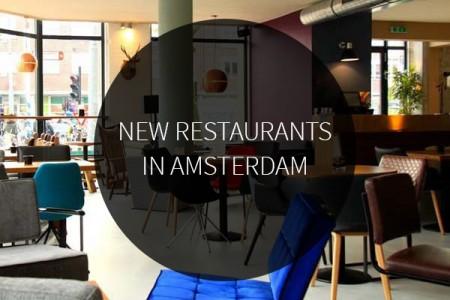 13 new restaurants in amsterdam