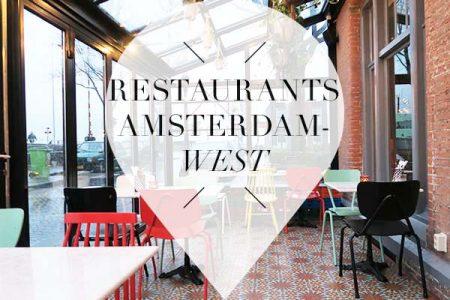 restaurants in amsterdam west