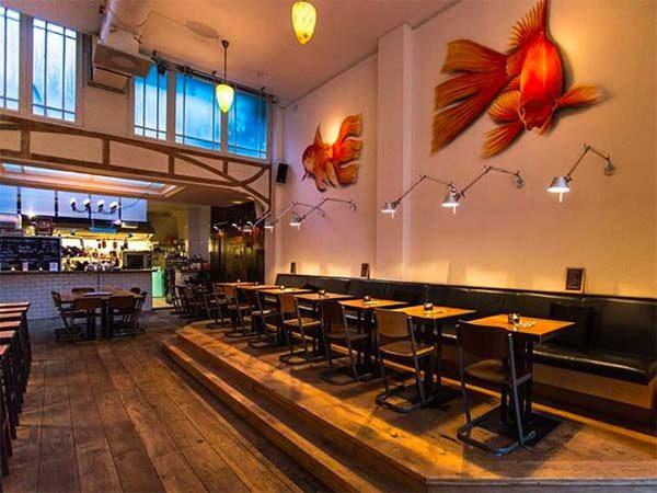 Goudvis Club Amsterdam | seafood restaurant