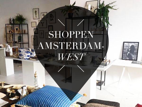 shoppen in amsterdam west