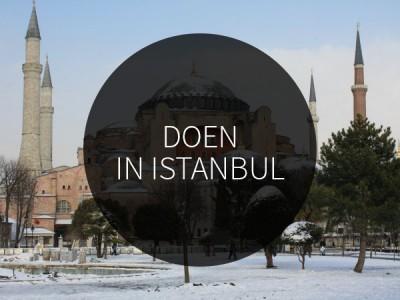 dingen om te doen in istanbul