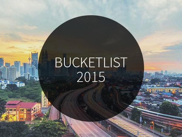 Steden bucketlist 2015