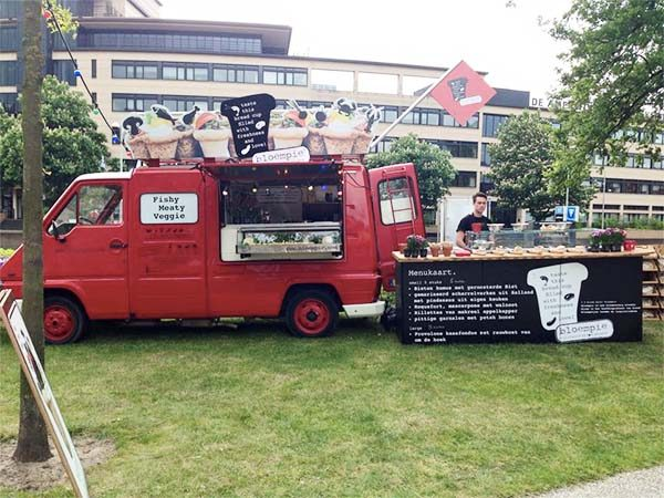 Foodtrucks in Amsterdam
