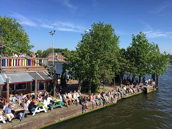 best terraces amsterdam