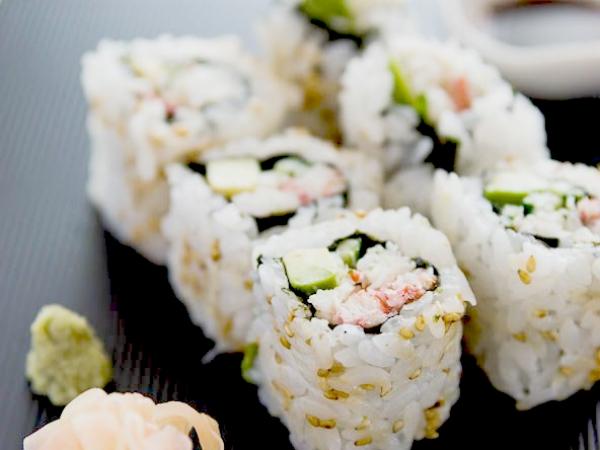 sushi Korsør finger i skeden
