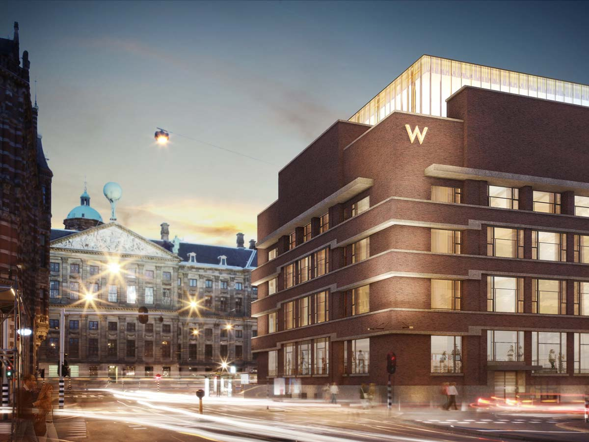 W amsterdam hotel amsterdam city guide for Amsterdam hotel
