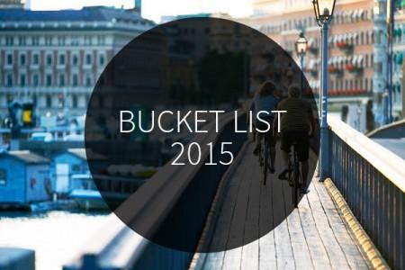 Hoge Noorden Bucket List 2015