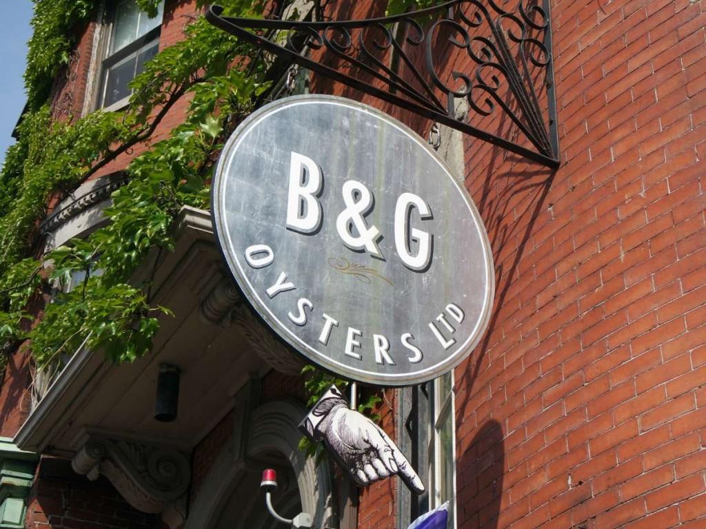 B & G Oyster Boston