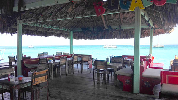 Bugaloe Beach Bar Aruba
