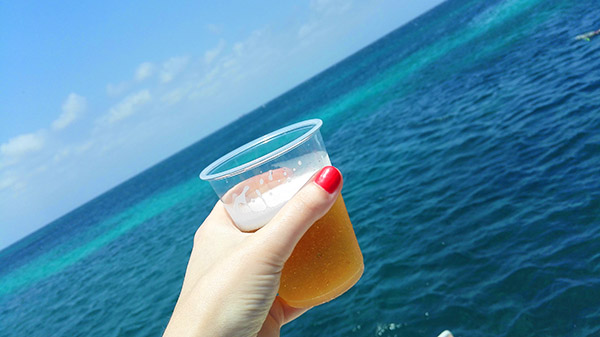 Snorkling Aruba