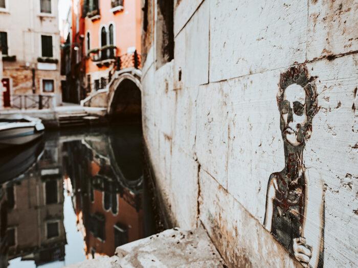street art venetië italië