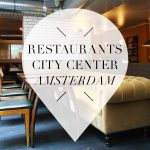 Restaurants in Amsterdam city center