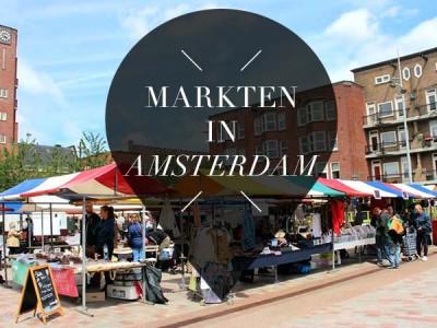 12x markten in Amsterdam