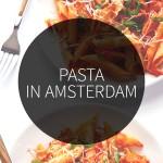 pasta in Amsterdam