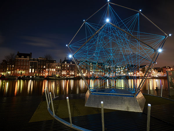 Amsterdam City Light Walk
