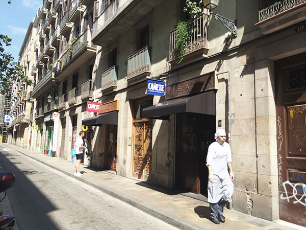 Bar Cañete el Raval Barcelona