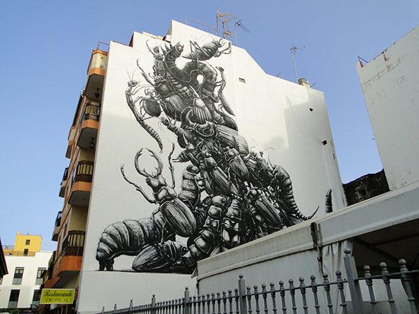 Streetart-Puerto de la Cruz-Tenerife