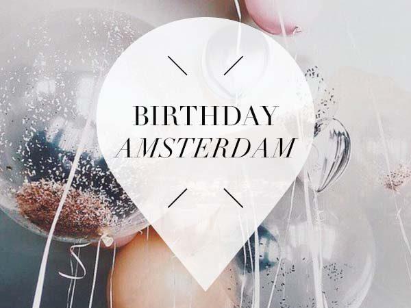 birthday in amsterdam