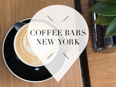 Coffee bars in New York