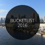 Bucketlist 2016