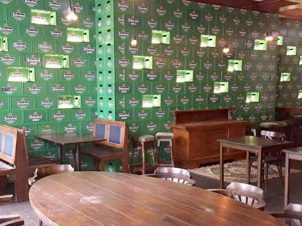 Pop-up bar Pand10 Amsterdam
