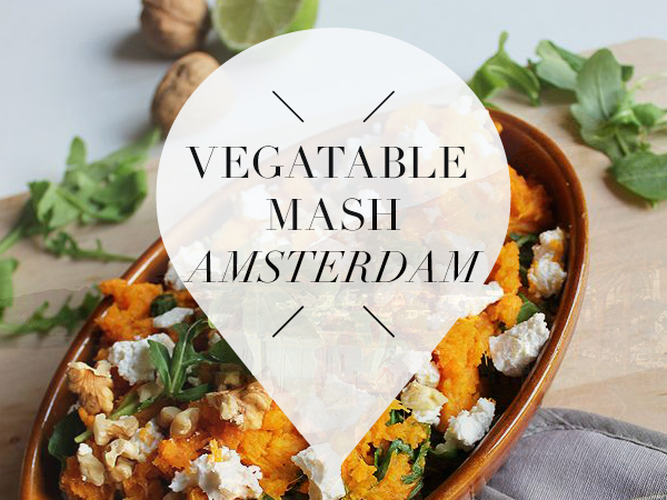 Vegetable mash in Amsterdam