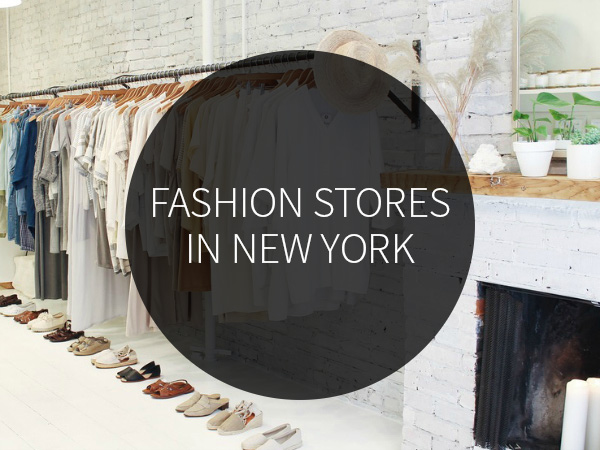 Fashion stores in New York