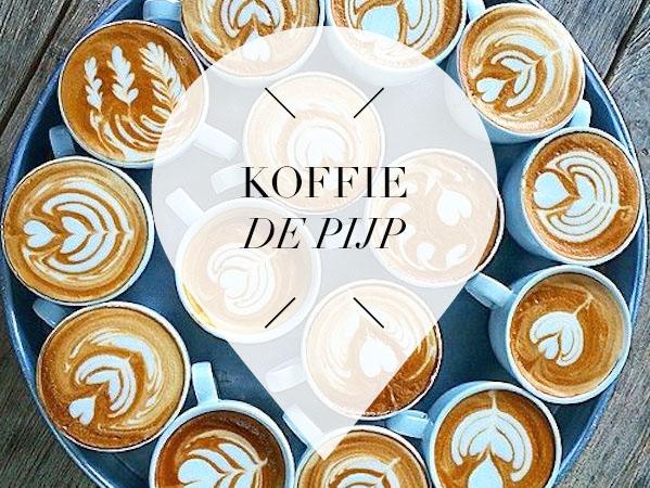 koffie in de pijp