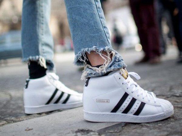 f74508f65c5 5 x hoge sneakers >> dé trend uit Parijs! - | Yourlittleblackbook.me