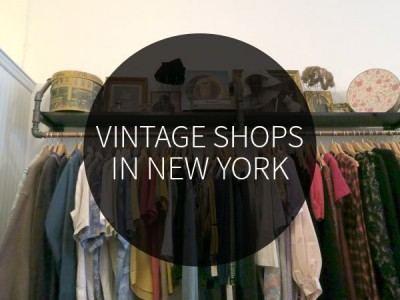Vintage shops in New York