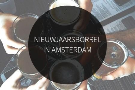 Nieuwjaarsborrel in Amsterdam