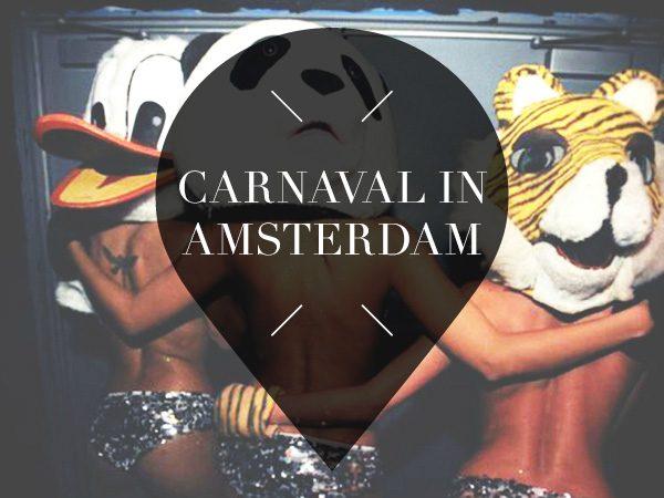 carnaval in Amsterdam