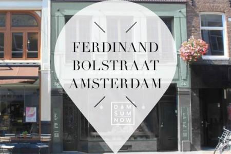 Ferdinand Bolstraat Amsterdam