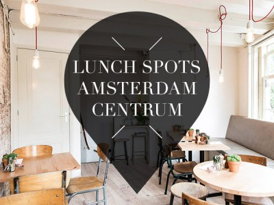 Lunchen in Amsterdam Centrum // Lunch in Amsterdam City Center