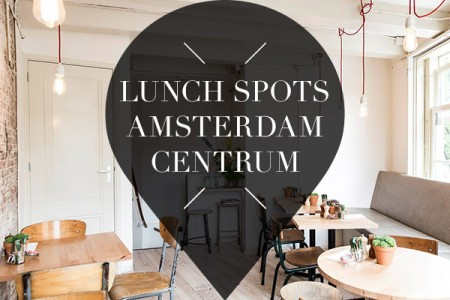 Lunchen in Amsterdam Centrum // Lunch in Amsterdam City Center